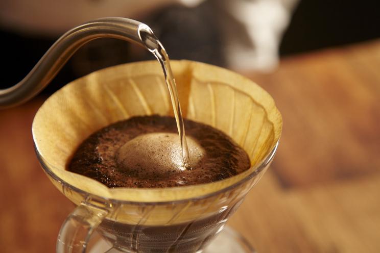 直売会 コーヒーセミナー ハンドドリップの抽出
