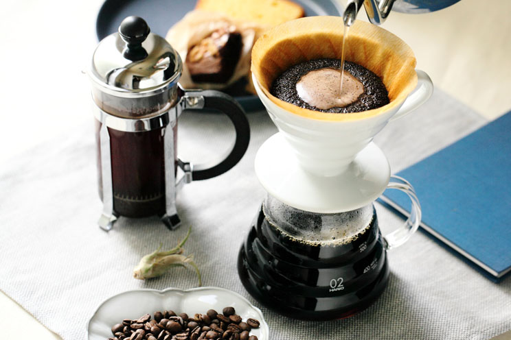 熊谷焙煎工場の直売会 &コーヒー教室(5月26日)