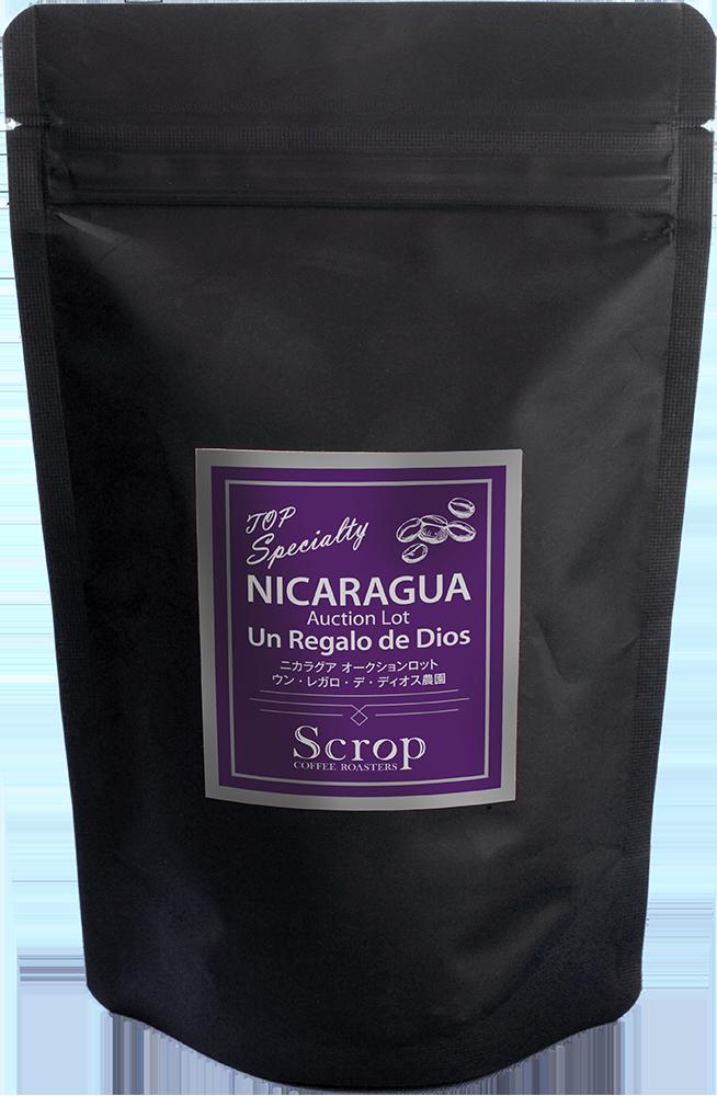 Scrop ニカラグア オークションロット ウン・レガロ・デ・ディオス農園