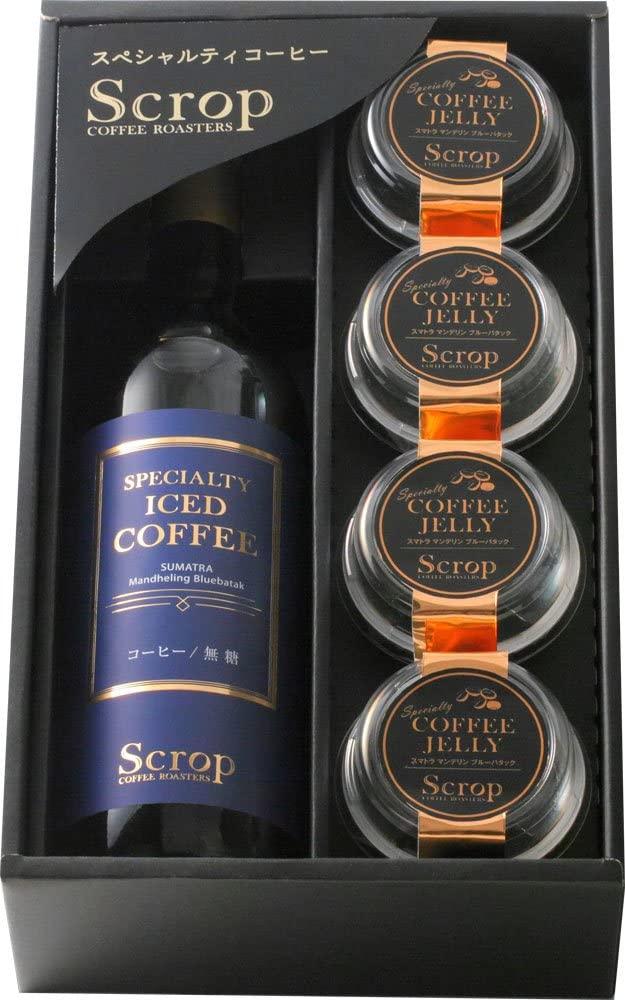 Scrop ギフト ボトルアイスコーヒー&コーヒーゼリーセット